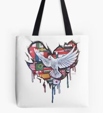 Peace by Jody Steel Tote Bag