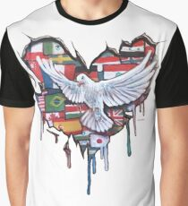 Peace by Jody Steel Graphic T-Shirt