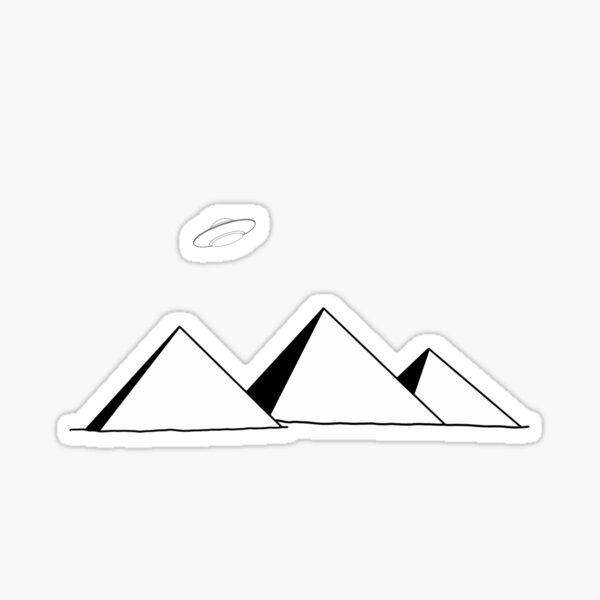 Ancient Wonders - Pyramids Sticker