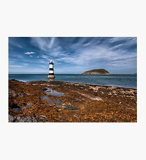 Penmon Point Lighthouse Photographic Print