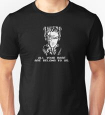 All Your Base - Black T T-Shirt
