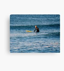 Waiting for the Perfect Wave......       ^ Canvas Print