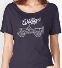 Willys-Overland MB 1941 - Mono V2 (Khaki) Women's Relaxed Fit T-Shirt