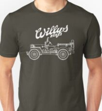 Willys-Overland MB 1941 - Mono V2 (Khaki) Unisex T-Shirt