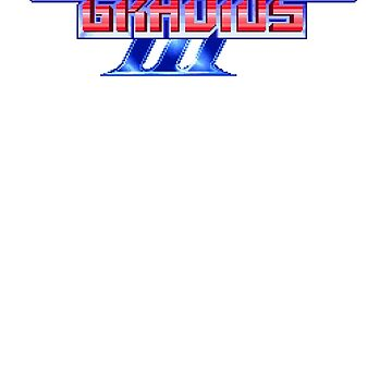 Gradius (SNES) Title Screen by AvalancheShirts