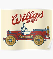 Willys-Overland MB 1941 Poster
