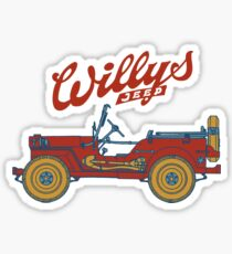 Willys-Overland MB 1941 Sticker