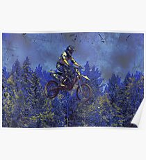 """""""Getting Air"""" Motocross Champion Poster"""