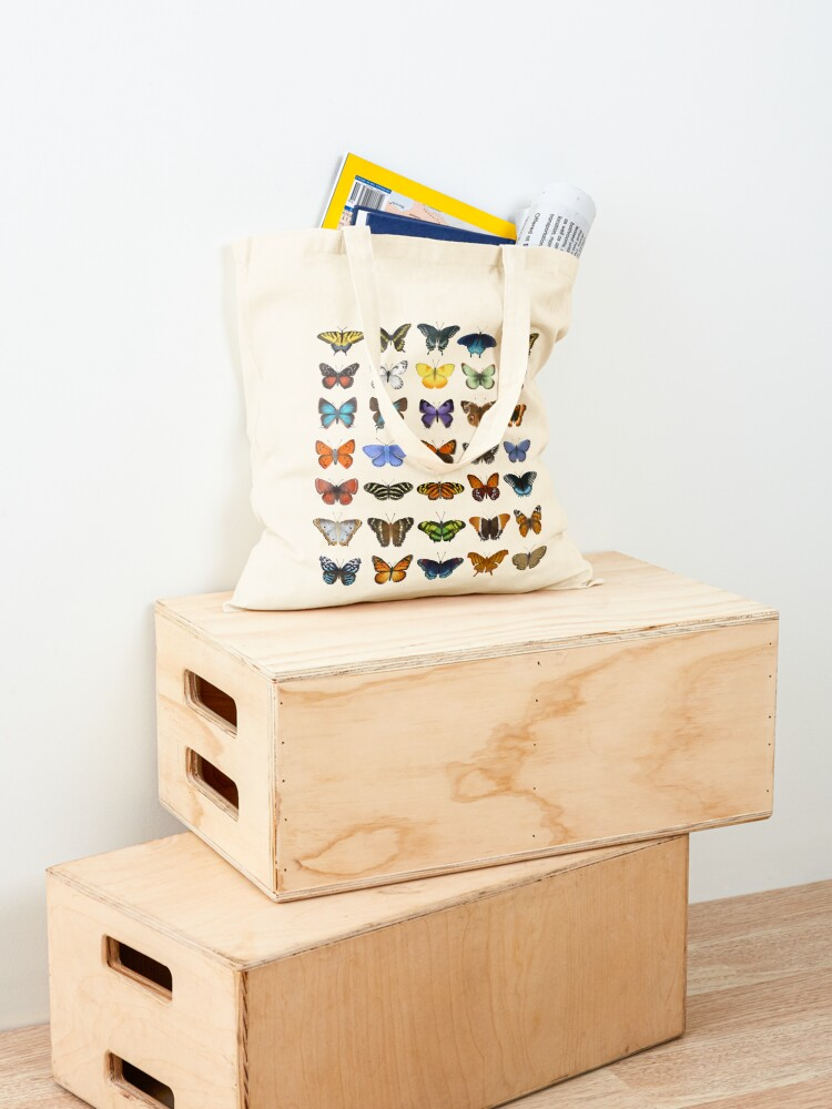 Alternate view of Butterflies of North America Tote Bag