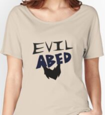 Evil Abed Women's Relaxed Fit T-Shirt