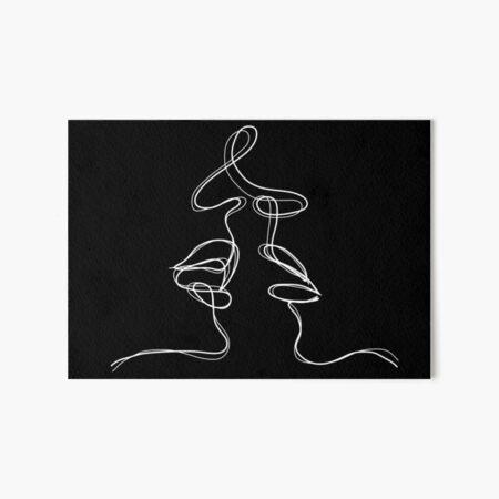Kiss  Art Board Print