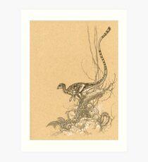Leaellynasaura Art Print