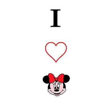 I love Minnie by alsalman