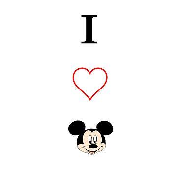 I love Mickey by alsalman