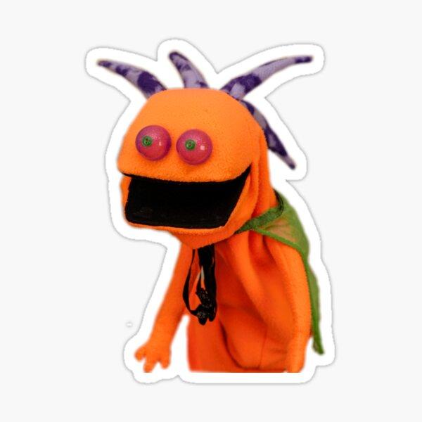 Wump Mucket Puppets G'Wazzl the alien merchandise Sticker
