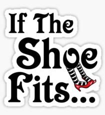 It's All About The Shoes -- Wizard of Oz Sticker