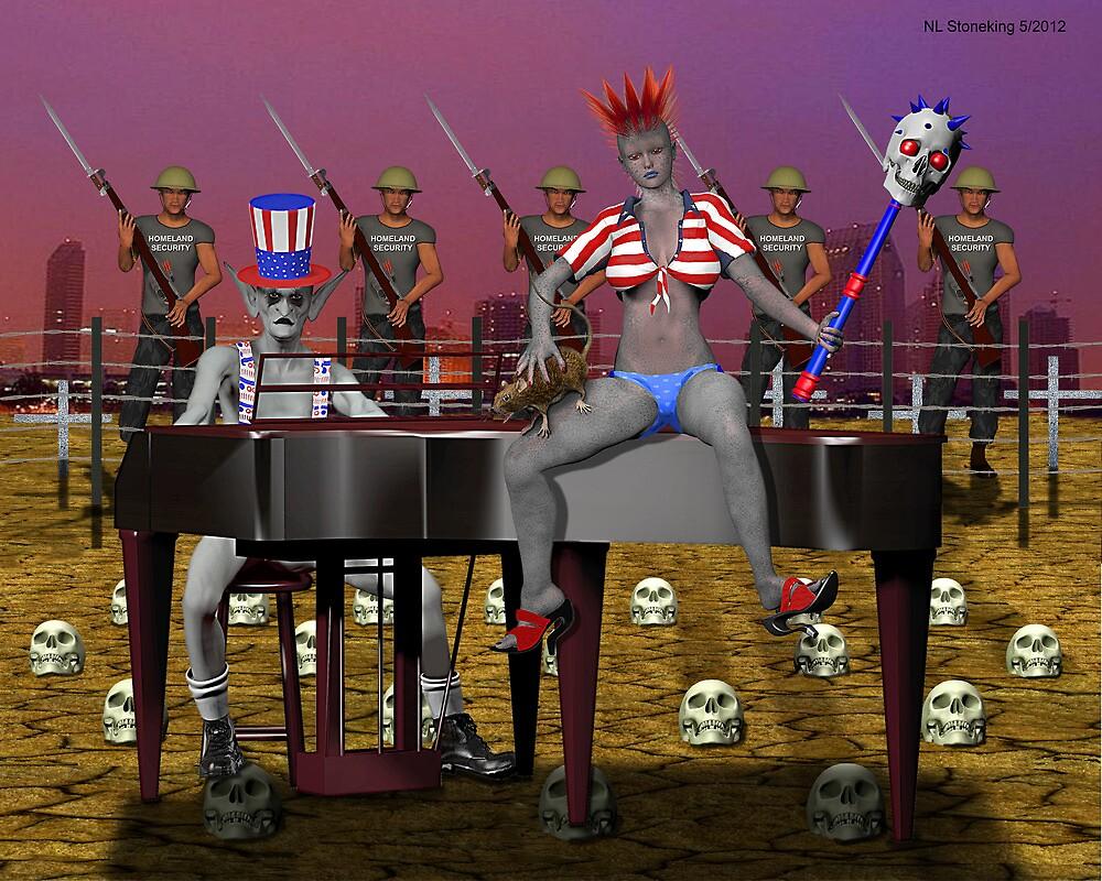 Piano Man 2012 by Norman Stoneking
