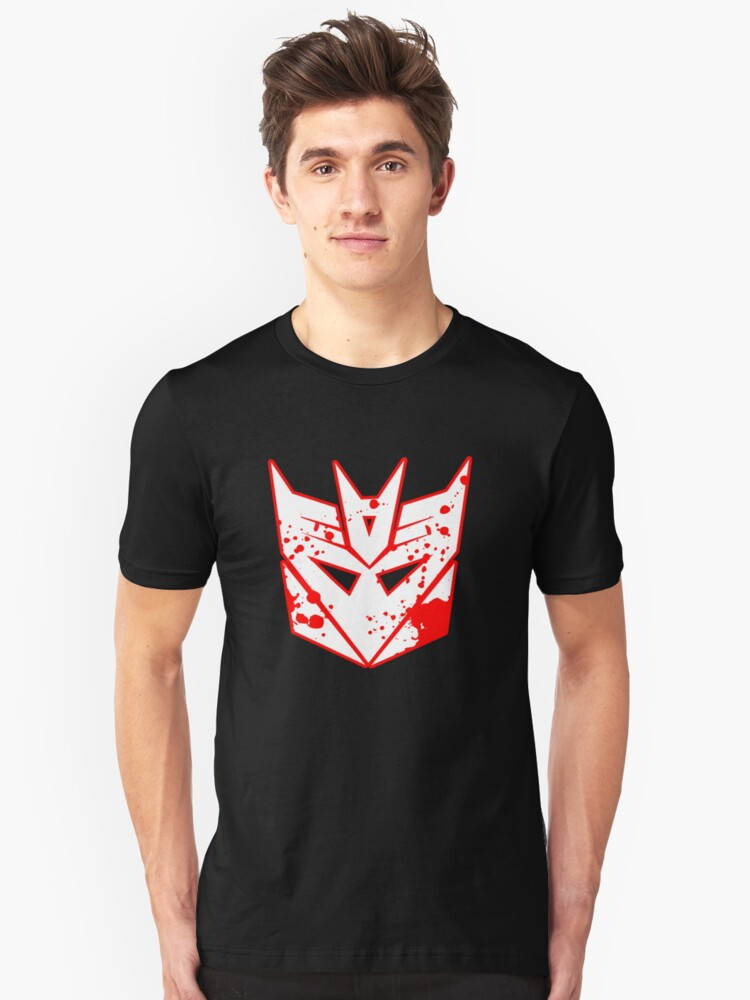Bloody Decepticons Unisex T-Shirt Front