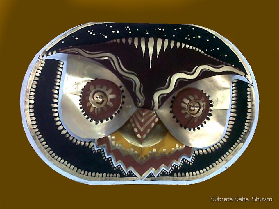 OWL Mask by Subrata Saha  Shuvro