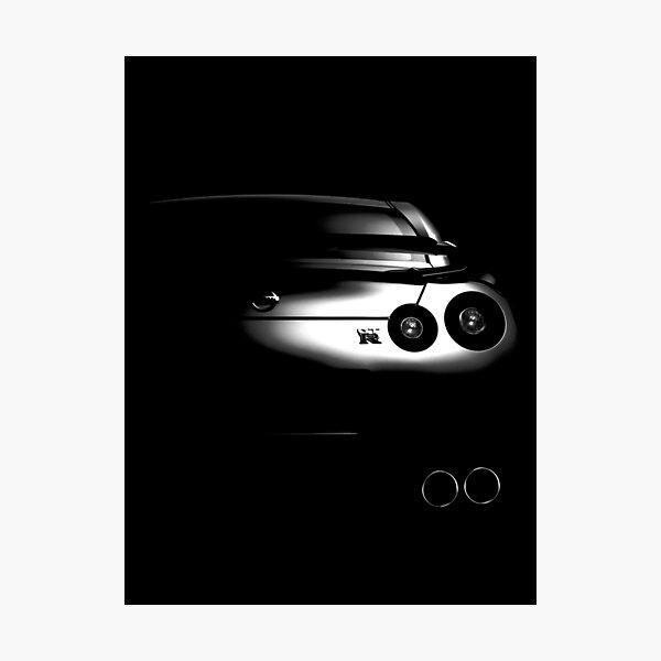 Nissan GTR R35 Photographic Print