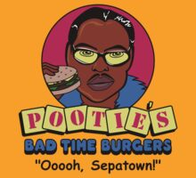 Pootie's Bad Time Burgers | Unisex T-Shirt