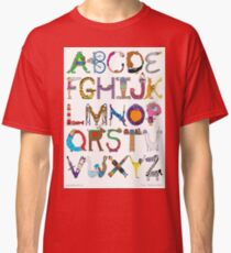 Children's Alphabet Classic T-Shirt