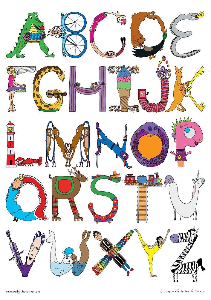 Children's Alphabet by babychoochoo
