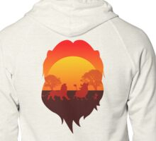 Circle of the life Zipped Hoodie