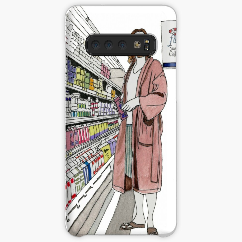 Jeffrey Lebowski and Milk. AKA, the Dude. Case & Skin for Samsung Galaxy