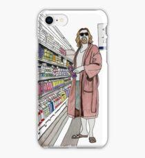 Jeffrey Lebowski and Milk. AKA, the Dude. iPhone Case/Skin