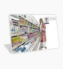 Jeffrey Lebowski and Milk. AKA, the Dude. Laptop Skin