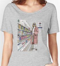 Camiseta ancha Jeffrey Lebowski y Milk. AKA, el tipo.