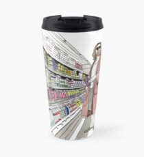 Jeffrey Lebowski and Milk. AKA, the Dude. Travel Mug