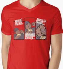 This is How A Burger Is Supposed to be... Men's V-Neck T-Shirt
