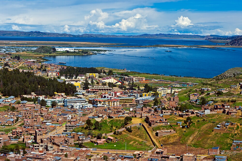 Lake Titicaca. by bulljup