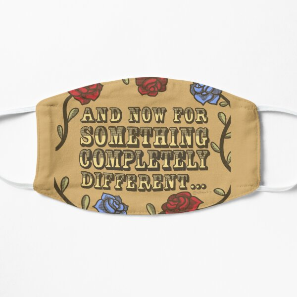Monty Python's Flying Circus Quote Illustration Mask