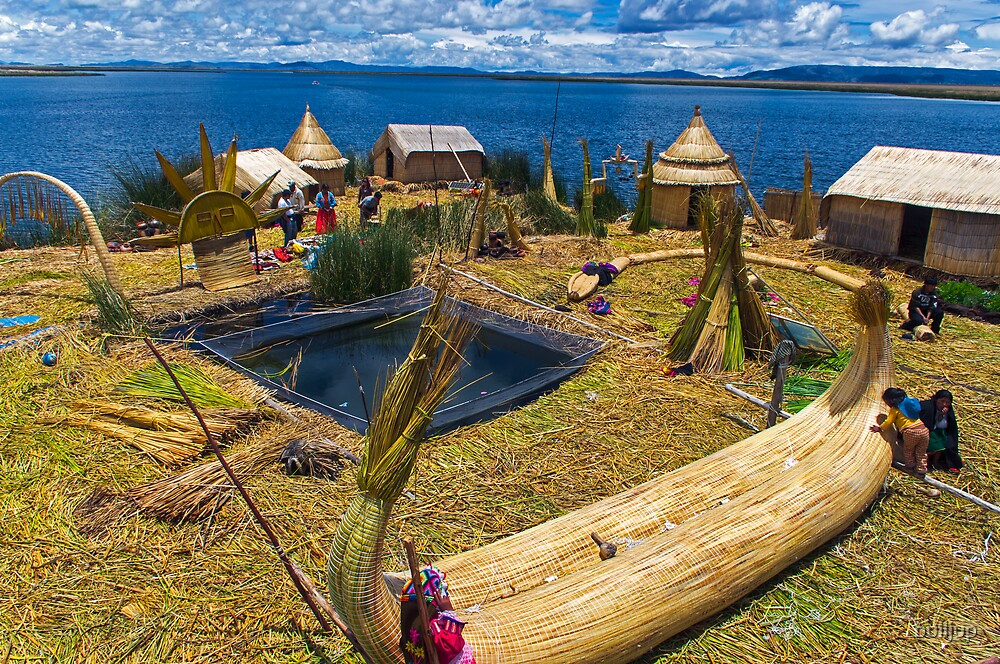 Uros Reed Island. by bulljup