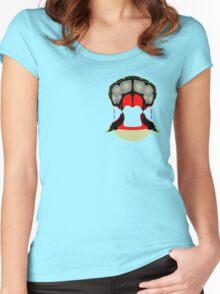 Tiki Masks - Ankylosaur Women's Fitted Scoop T-Shirt