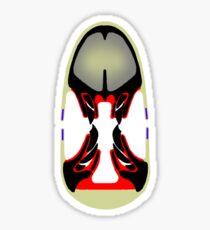 Tiki Masks - Ceratopsian Sticker
