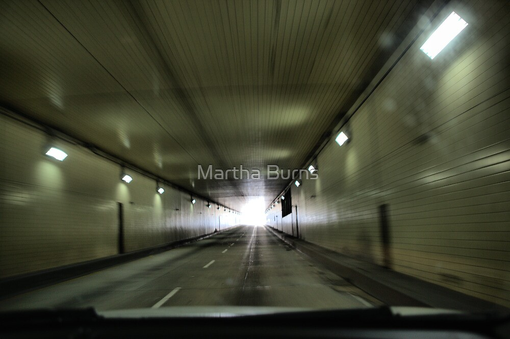 Tunnel vision by Martha Burns