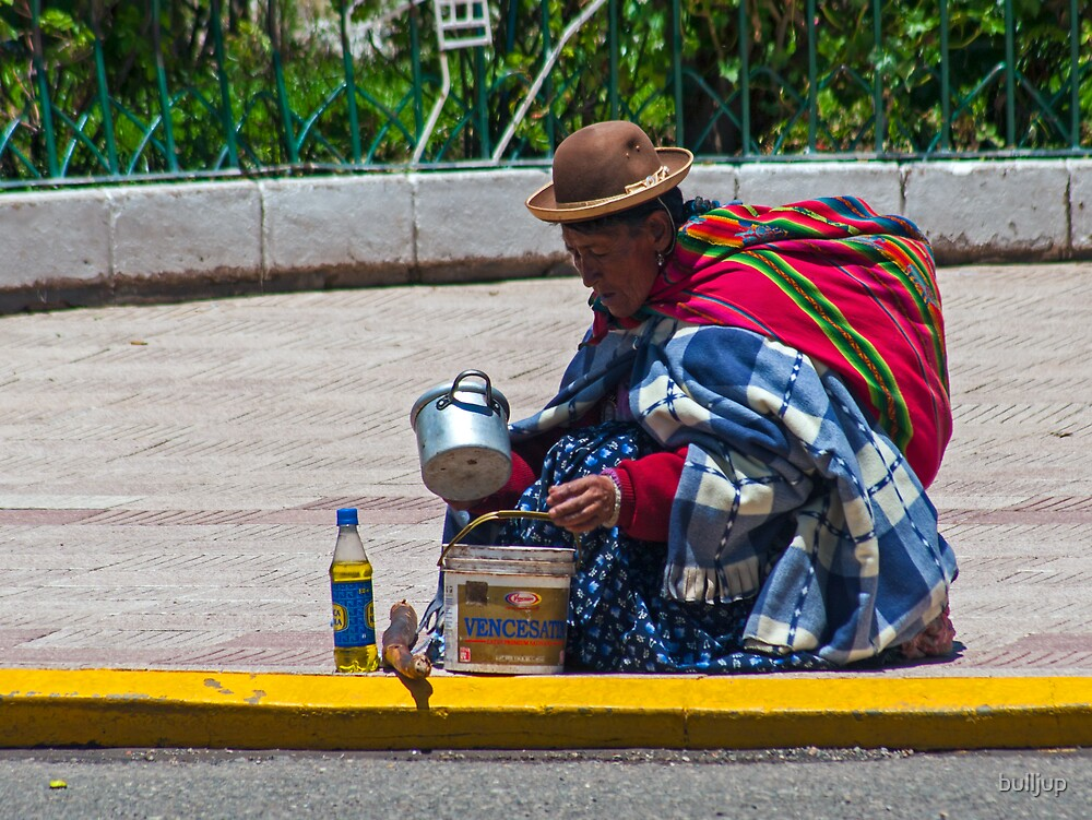 Woman of Puno. by bulljup