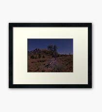 Elder Range Framed Print