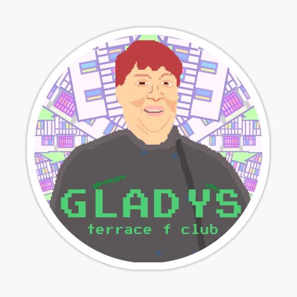 Gladys TFC Glossy Sticker
