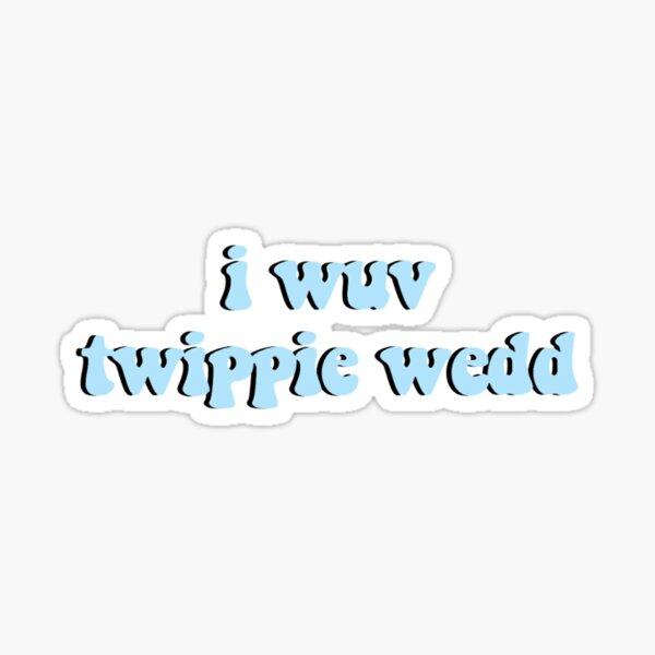 I Love Trippie Redd Blue Sticker