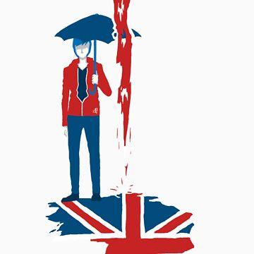 London Rain by Lackadizzy