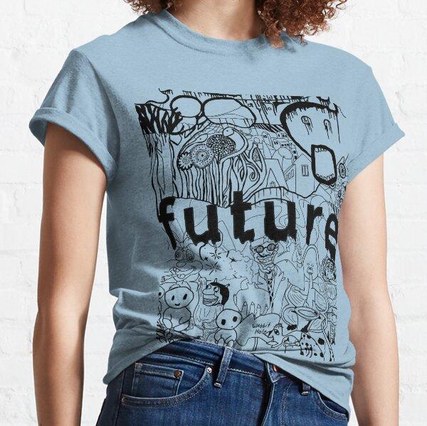 Future B&W montage Classic T-Shirt