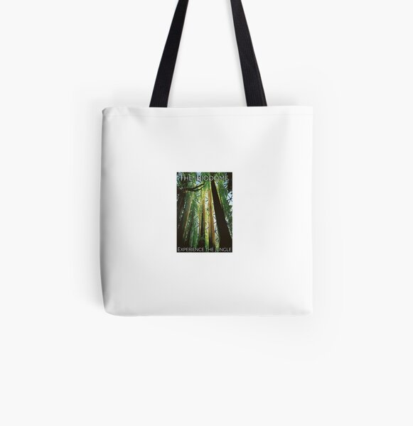 Experience the jungle biodome poster All Over Print Tote Bag