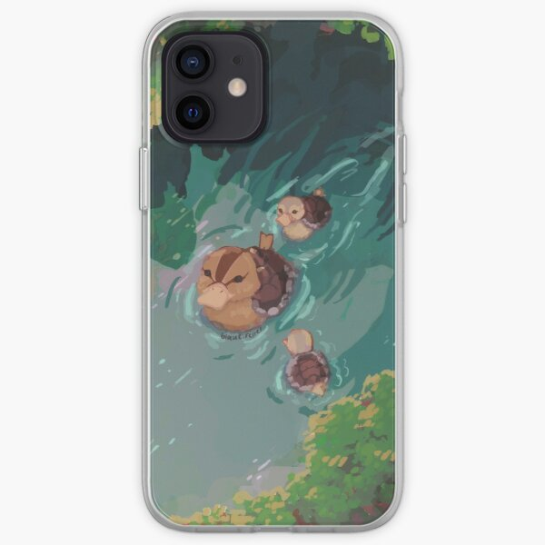 turtle duck pond avatar the last airbender iPhone Soft Case