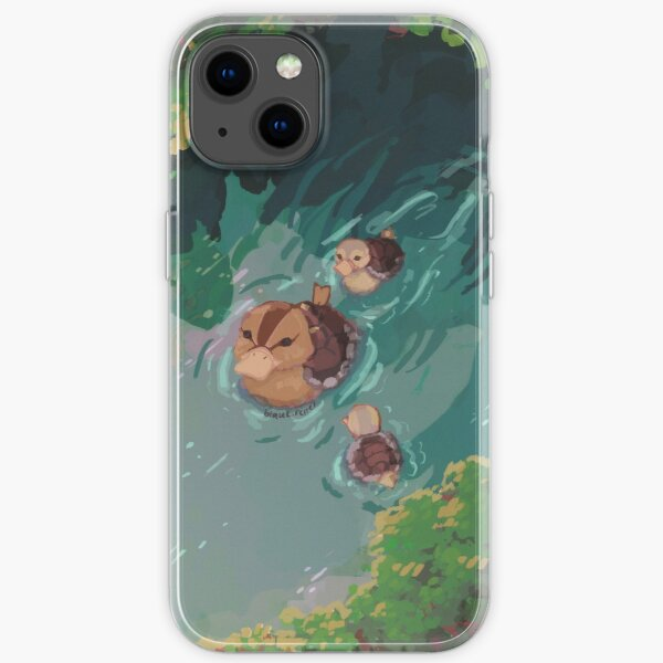 Turtle Duck Pond Avatar der letzte Airbender iPhone Flexible Hülle