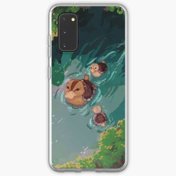 turtle duck pond avatar the last airbender Samsung Galaxy Soft Case